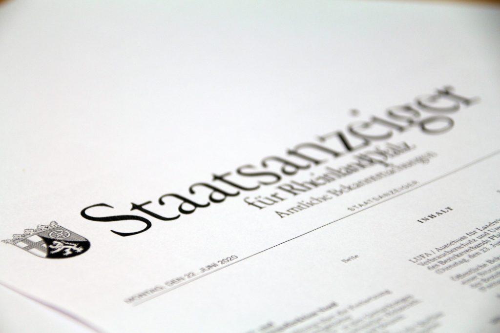 Allgemeinverfügung zur Erlegung von Schwarzwild unter Verwendung von Nachtsichtvorsätzen und Nachtsichtaufsätzen - Landesjagdverband Rheinland-Pfalz e.V.