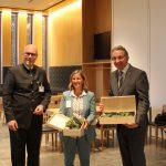 LJV-Präsident Dieter Mahr mit Staatssekretärin Katrin Eder (MKUEM) und VIzepräsident des Landtags Rheinland-Pfalz, Matthias Lammert